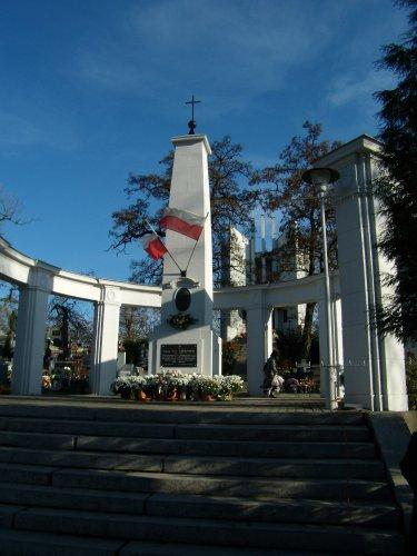 Mauzoleum na mogileńskim cmentarzu