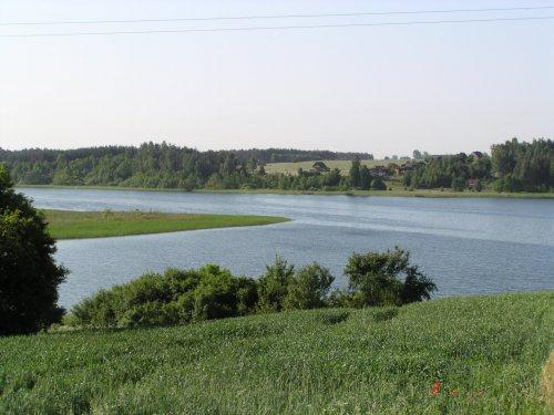 Widok na Jezioro Wienieckie