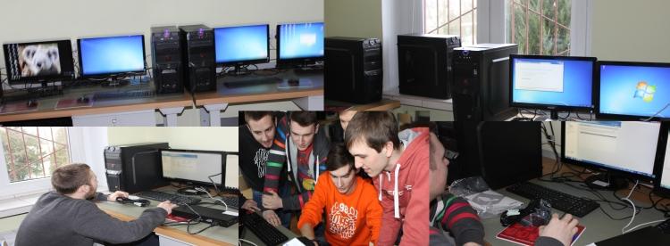 Pracowania montażu ieksploatacji komputerów osobistych oraz urządzeń peryferyjnych zgodny zklasyfikacją E12 dla zawodu technik informatyk