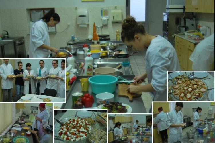 Zajęcia przygotowujące do wejścia na rynek pracy – Kucharz garmażer wZespole Szkół wBielicach